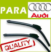 2 Escobillas Limpiaparabrisas Aerodinámico Flexibles para Audi A4 B8 2008-2015