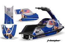 Jet Ski Gráficos Kit Pegatina Adhesivo Wrap For Yamaha Superjet Redondo la Nariz