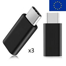 USB C Male to Micro USB Female Converter Type C Adapter EU seller shipping 3pack