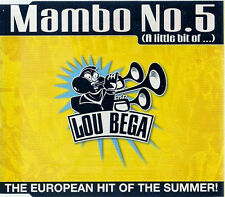 Lou Bega Mambo No 5     Five UK CD Single