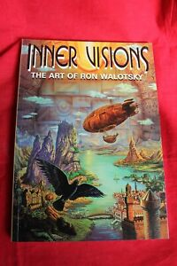Inner Visions; The Art of Ron Walotsky. {paperback 2000}