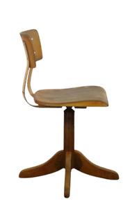alter Ama Elastik Modell 325 Arbeits Dreh Stuhl Bauhaus Ära 30er-50er Jahre