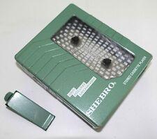 Vintage Tech 1980s Personal Stereo Shebro WM-22 Rare Walkman-Era Cassette Player