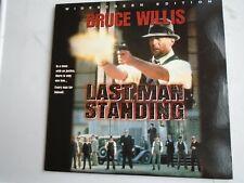 Last Man Standing Laserdisc Widescreen Ntsc Bruce Willis