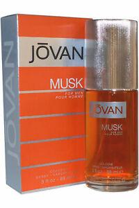 Jovan Musk for Men Cologne Spray 88ml Mens Fragrance