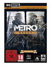 Metro Redux Bundle Last Light Redux+Metro 2033 Steam Key Pc Game [Blitzversand]
