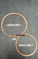 SEWING MACHINE BELT ORANGE SMALL or LARGE FITS FRISTER AND ROSSMANN 500 502 504