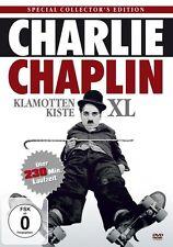 CHARLIE CHAPLIN - KLAMOTTENKISTE XL 14 Filme Klassiker DVD Box COLLECTION Neu
