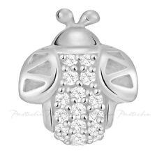 Lovelinks Bead Sterling Silver,Silver Bee CZ Bead Fashion Charm Jewelry TT466CZ
