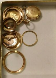 Lot Of Gold Filled Jewelry For Gold Scrap 106 Grams