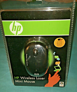 HP Wireless Laser Mini Mouse - Precision Laser Tracking {NEW-UNOPENED}