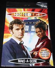 Dr Who Make-A-Scene Doctor Who vinyl stickers