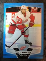 O-Pee-Chee 2019-2020 MIKE GREEN BLUE BORDER HOCKEY CARD #350