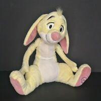 Disney Store Rabbit Stuffed Animal Plush Winnie The Pooh Foot Stamp 13 Inch