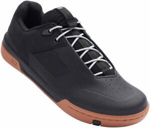 Crank Brothers Stamp Lace Men's Flat Shoe - Black/Silver/Gum, Size 10.5