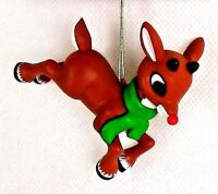 NEW! Rudolph the Red Nose Reindeer Christmas Tree Ornament Holiday Super Cute