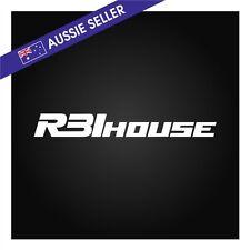 R31House Sticker Decal WHITE suit R31 Skyline GTS GTSX GTSR JDM Passage GT House