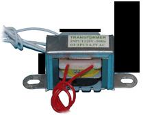 Transformador alimentacion entrada AC 220V 50Hz a salida DC 6,5V bifasico