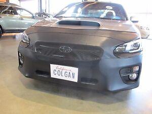 Colgan Front End Mask Bra 2pc. Fits Subaru WRX Premium & Lim. 2015-18 4DR. W/Tag