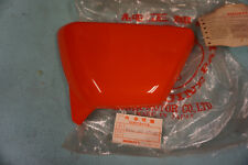 NOS 1977-78 Honda XL100 Red LEFT Side Cover, XL125 XL 100 125