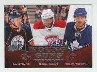 (69407) 2010-11 UPPER DECK YOUNG GUNS CHECK LIST #250 HALL, SUBBAN, KADRI
