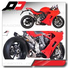 Scarico semi completo QD Gunshot Ducati Supersport 2017 2018 Omologato Exhaust