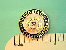 US COAST GUARD - hat pin , tie tac , lapel pin , hatpin GIFT BOXED