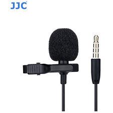 JJC SGM-28 Omnidirectional Lavalier Microphone digital camera  camcorder iphone