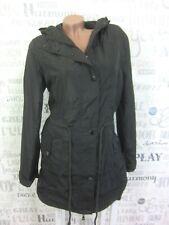 NEU Damen Jacke ÜBERGANGSMANTEL übergangsjacke TRENCHCOAT Grau Gr. 40 M1480