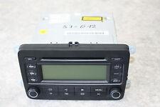 Radio RCD 300 BVX Blaupunkt 7649221360 1K0035186 L  1K0 035 186 L VW Golf V 1K