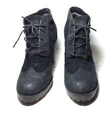 TIMBERLAND BOOTS Black  High Heel Boots Size 11M