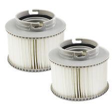 2 Obere Qualität Ersatz Filter Kartuschen Doppelpack für Mspa Hot Wannen