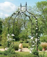 Tall Garden Archway Trellis Wedding Arbor Flower Metal Entry Backyard Patio Lawn