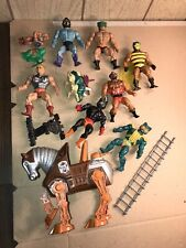 vintage he man masters of the universe lot 2