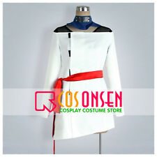 Cosonsen Naruto Temari Cosplay Costume White Dress Custom Made All Sizes