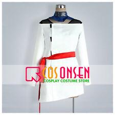 Cosonsen Naruto Temari Cosplay Costume White Dress Custom Made All Sizes