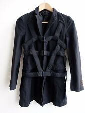 Comme des Garcons SS 2014 Harness Polyester Coat XS NWOT