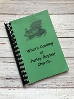 Vintage Purley Baptist Church Cookbook Mount Vernon Texas Recipes