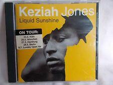KEZIAH JONES - LIQUID SUNSHINE - EU 13 TRK CD - BLUES - FUNK