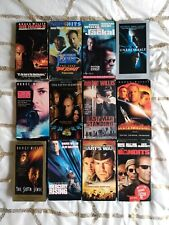Bruce Willis action thriller Vhs lot Unbreakable Last Boy Scout Man Standing