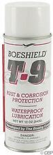 Boeshield T9 Aerosol Chain Lube and Rust Inhibitor: 12oz