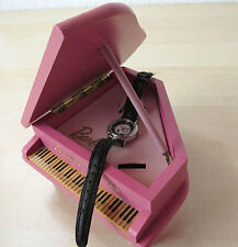 "Barbie Grande Piano ""Solo in the Spotlight"" Fossil Armbanduhr im Flügel *RAR*"