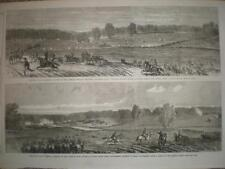 Civil War USA Federal army Jefferson County Virginia Lee Town & Winchester 1863