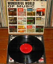 WONDERFUL WORLD OF MUSIC USA 1960s LP TSD-5 Time Records Vinyl