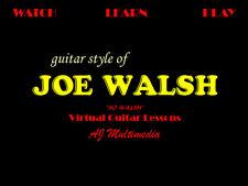 Custom Guitar Lessons, Learn Joe Walsh - DVD Video