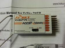NEW FrSky D6FR 6 Channel 2 way Receiver
