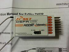 NEW FrSky D6FR 6 Channel 2 way Receiver