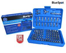 Blue Spot 100pc Assorted Screwdriver Bit Set, Security, Power, Hex, Torx, Bits