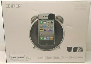 EDIFIER iPhone/iPod DOCK AND SPEAKER + LIGHTNING ADAPTER White  iTick Tock iF220