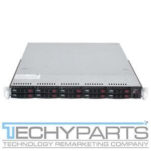 """Supermicro 116TQ-R700WB X10DRW-i 2x LGA2011v3 Xeon E5-26xx 10-Bay 2.5"""" 1U Server"""